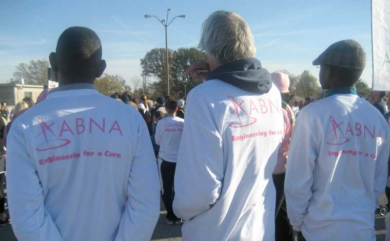 "2010: ""Engineering for a Cure"" – ABNA participates in the Susan G. Kohmen Race for the Cure"